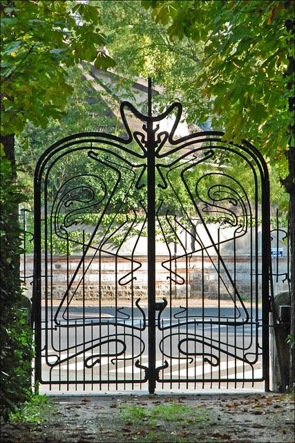 portillon de jardin