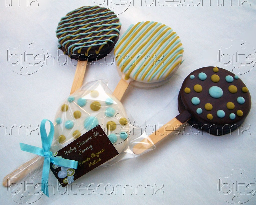 Paletas para baby shower si for Novedades para baby shower