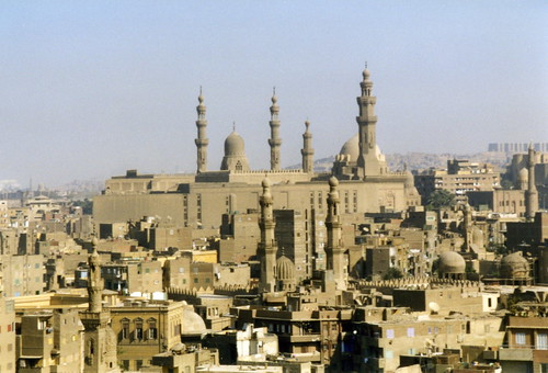 Cairo, the Mosque of Sultan Hassan and the Al-Rifa'i Mosque | by Arian Zwegers