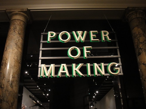 V&A Lates - Power of Marking 30/09/11 | by designer_dan