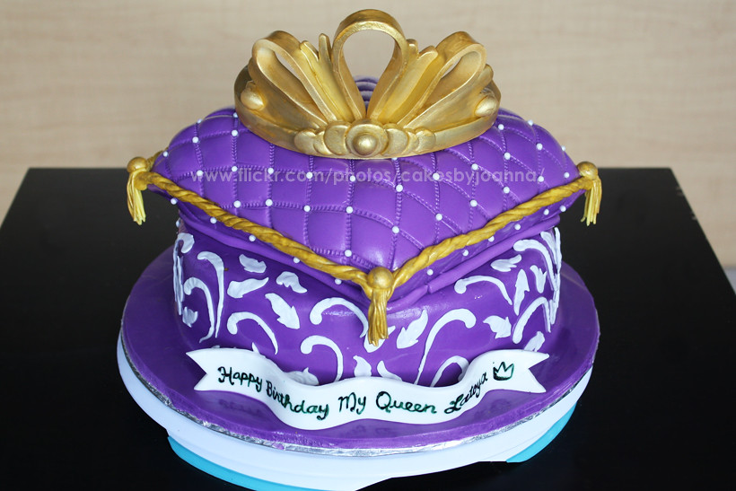 Purple cake, Queen themed  Visit my Blog at: www.TheCakingG ...