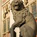 Lion Statue, Bruges, Belgium