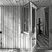 Norris House Back Facade Door Open