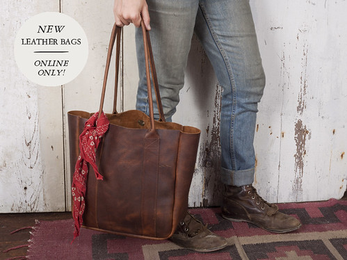 NEW LEATHER BAGS | by forestbound
