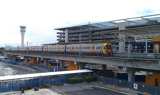 Brisbane Airtrain at the Domestic Terminal | by Daniel Bowen