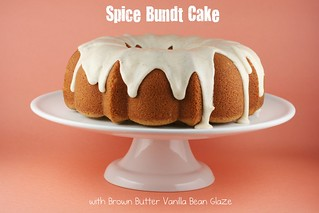 Spice Bundt Cake with Brown Butter Vanilla Bean Glaze - I Like Big Bundts 2011 | by Food Librarian