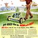 1950 ... loves his mower!