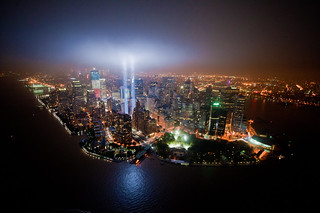 Bird's-eye view of Tribute In Lights | by noamgalai