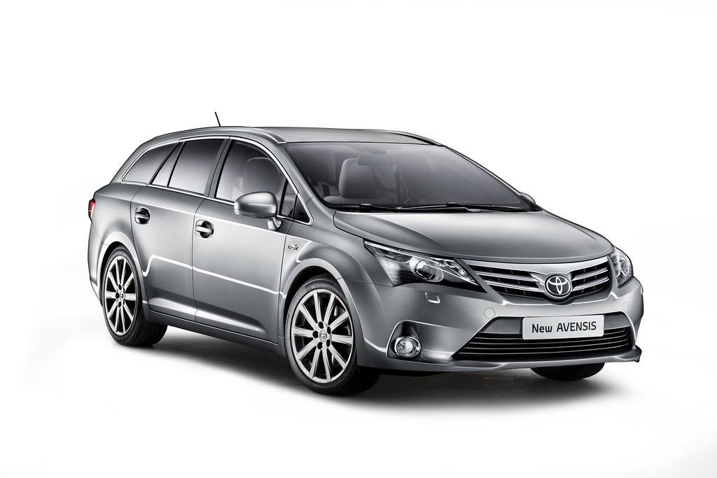 The New 2012 Toyota Avensis Toyota Unveils A Range Of New Flickr