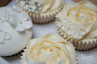 A touch of bling... | by The Cupcake Studio