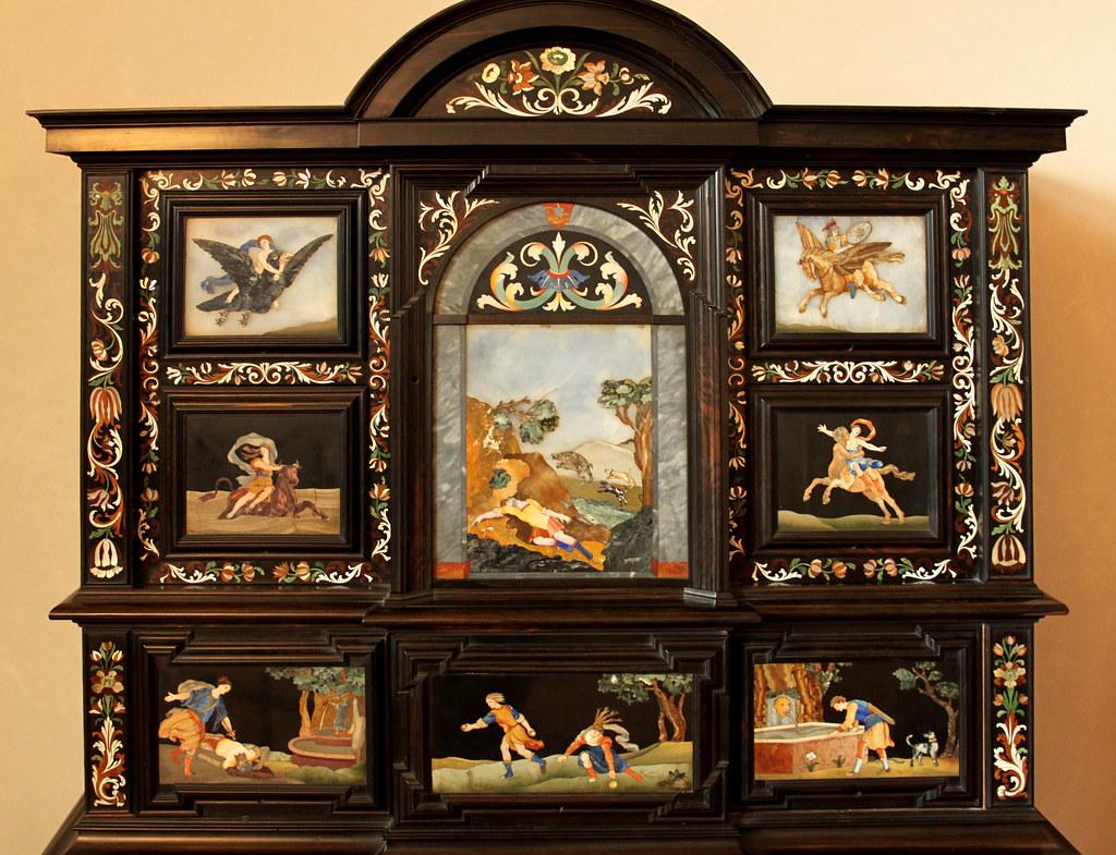 ... Pietra Dura Cabinet | By DaveGray