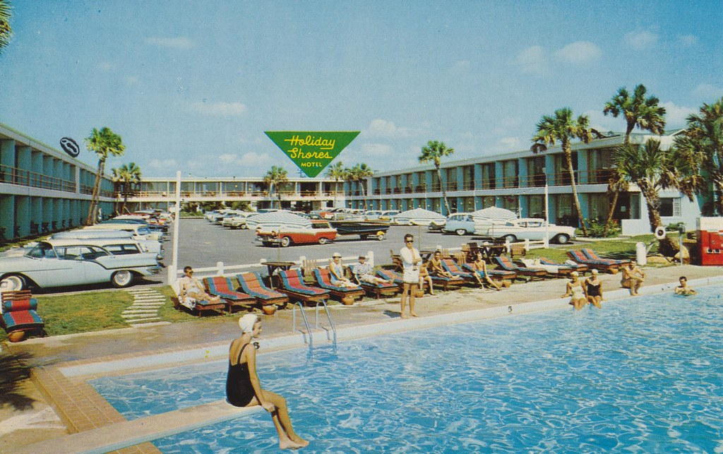 Holiday Shores Motel - Daytona Beach, Florida