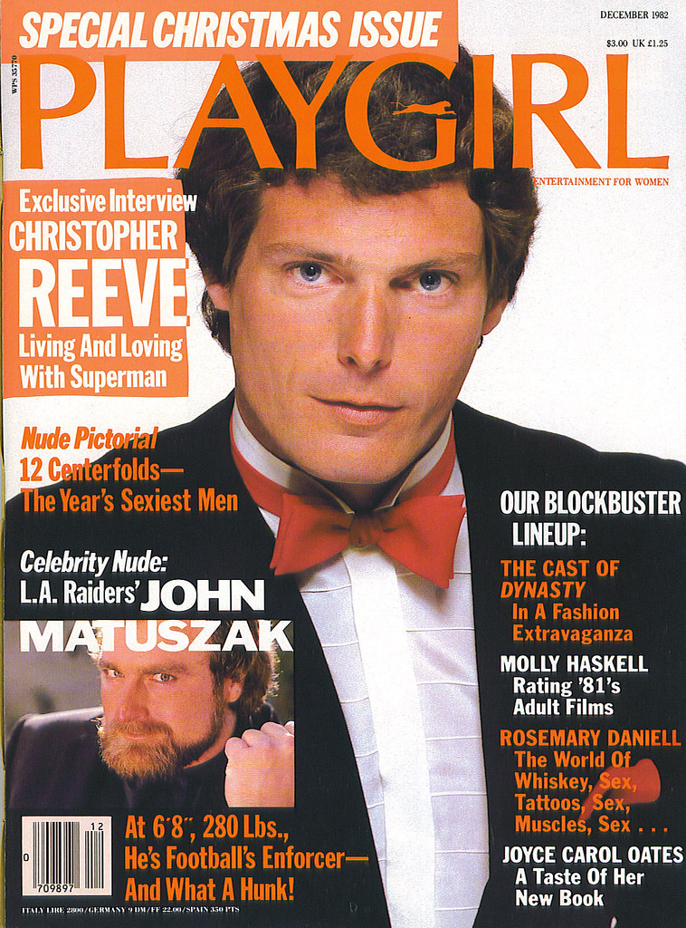 Christopher Reeve Playgirl Cover - 1982  Thomas Friel -8471