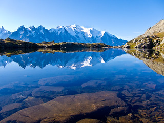 View over the Mont Blanc | by melyli