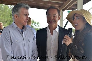 EmmeGirls CEO Emme Porter interviewing John Walsh from America's Most Wanted and Robert Do at Green Cup of Polo | by EmmeGirls