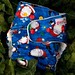 Kris Kringle Jingle One-Size Fitted Diaper