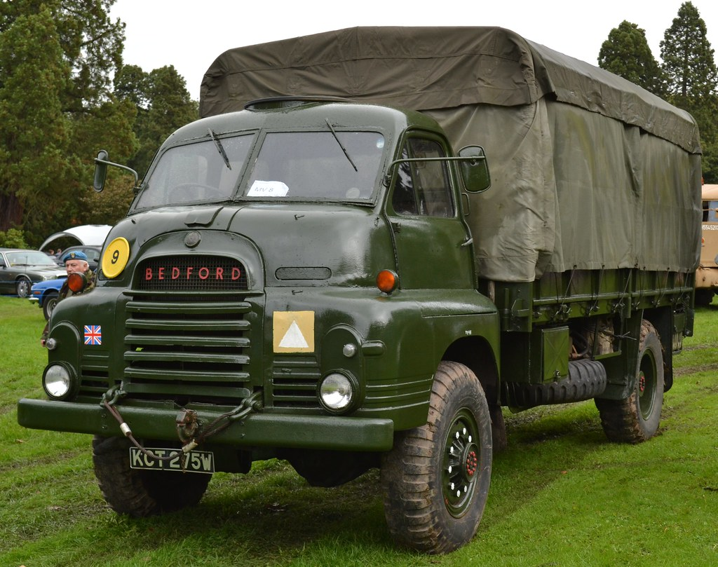 Old 4x4 Trucks For Sale >> Bedford 3 Ton Army Truck. | Seen at the Tredegar Park Vintag… | Flickr