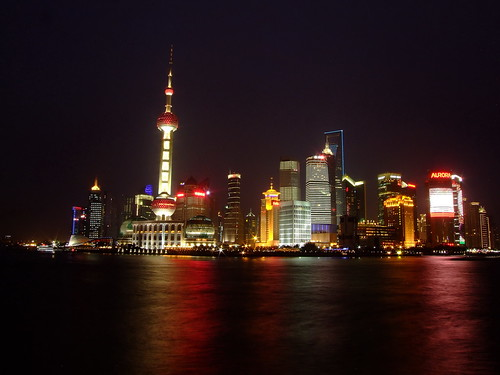 Shanghai Night Scene | by johnnz2011