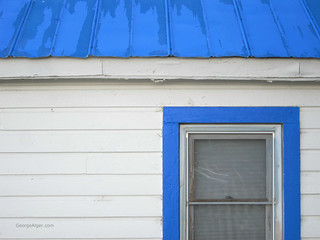 Blue Roof | by GeorgeAlger.com