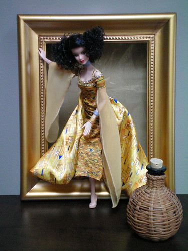 Barbie Doll Inspired by Gustav Klimt | by Frankiedoll