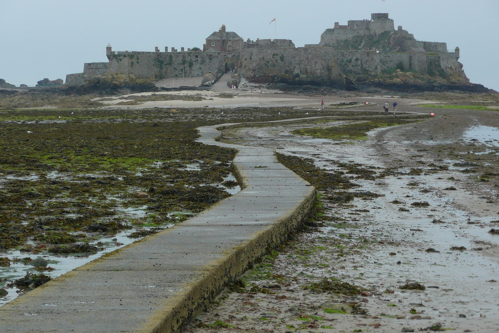 Elizabeth Castle Causeway Jersey 2 Hours Either Side Of