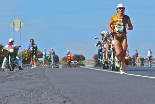 Record setter .... Mark Allen # 1 ... Kona Hawaii Ironman 1994 | by gmayster01 on & off ...