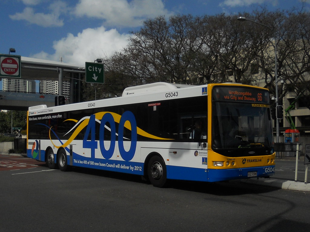 Brisbane Transport 5043 Brisbane Transport Volvo B12ble