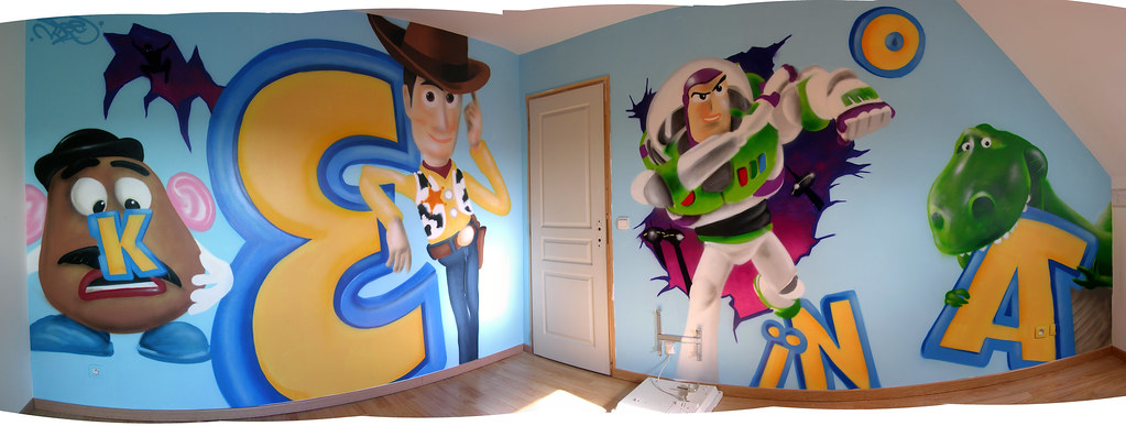 décoration chambre toy story
