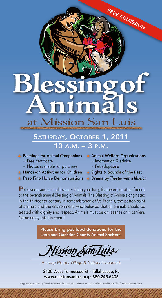 Blessing Of Animals 2011 Flyer We Had A Beautiful And Fun Flickr