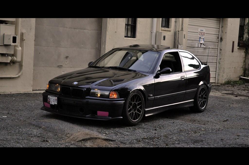 Bmw Back Alley 1995 Bmw 318ti On Nogaro Silver Bbs Rc