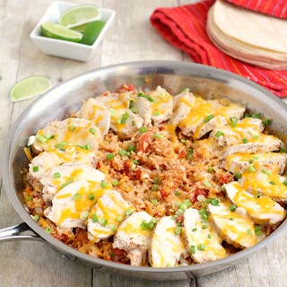 Fiesta Chicken and Rice | by Tracey's Culinary Adventures
