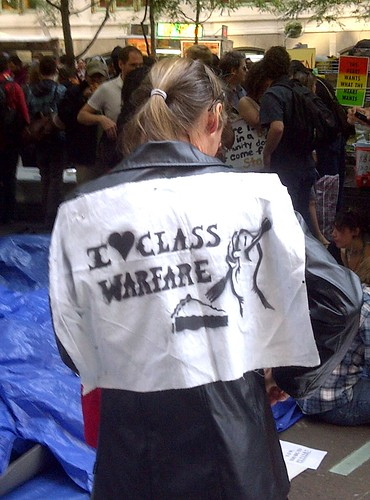 I Heart Class Warfare - Occupy Wall Street Protest - 8 Oct 2011 - Zuccotti Park - NYC - USA (BlackBerry Photo) | by Adam Jones, Ph.D. - Global Photo Archive