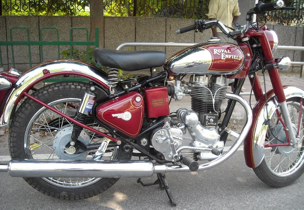 Royal Enfield 350cc restored | Vintage Auto World | Flickr