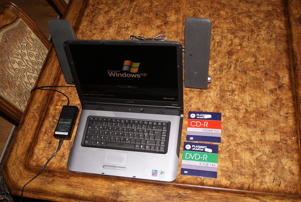 Sony Vaio Laptop Vgn A217s 7 Windows Xp Business Sp3