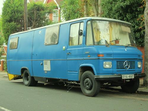 Mercedes Van Camper >> 1978 Mercedes 508D Van. | Impressively large vans, I suppose… | Flickr