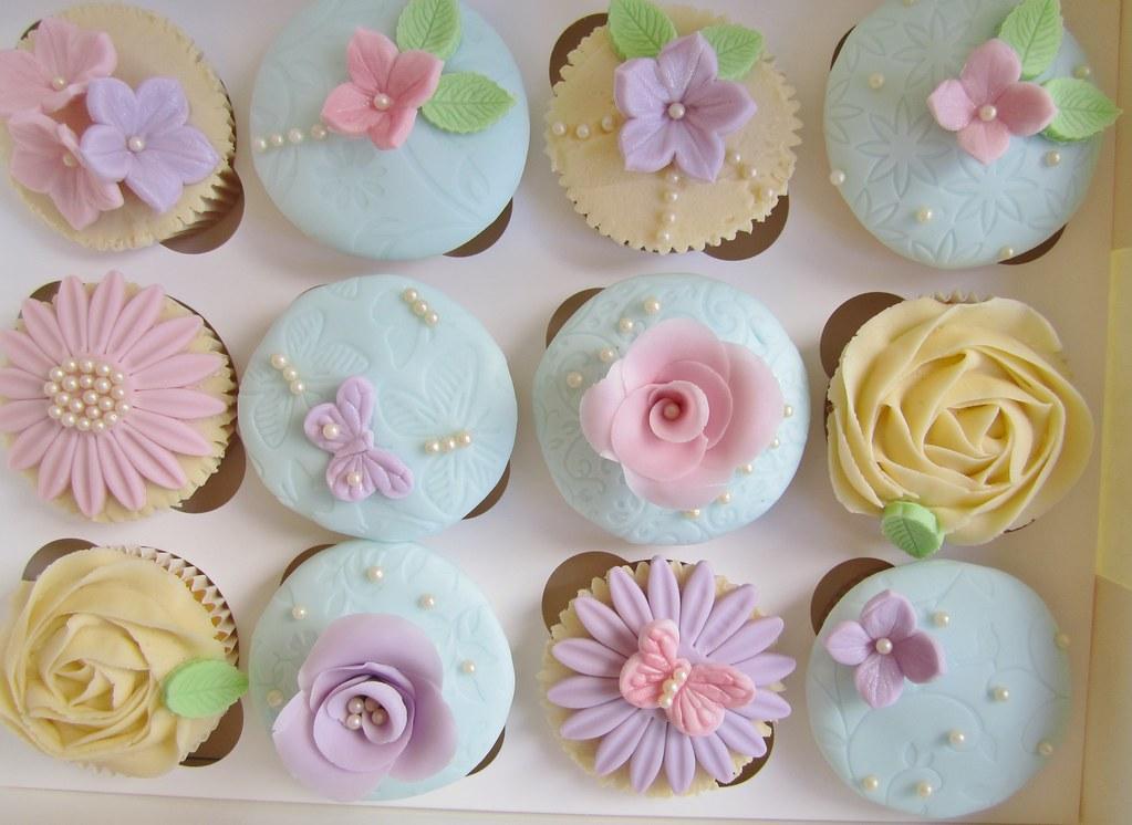 Shabby Chic Birthday Cake Ideas