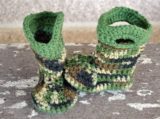 Camo Boots 004 | by gwenduhart