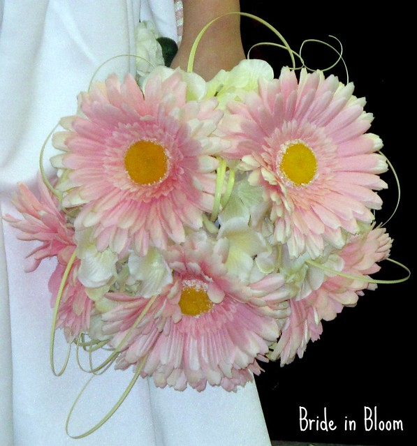 Wedding Bouquet Of Gerbera Daisies : Pink gerbera daisy bridal bouquet flickr photo sharing