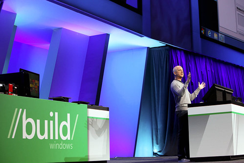 Steven Sinofsky showcases Windows 8 at BUILD. | by BUILDWindows