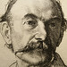 1893 Etching of Thomas Hardy by William Strang (Detail)