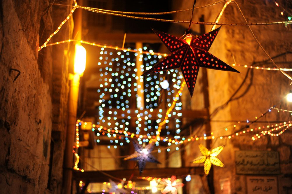 Ramadan Decorations In Jerusalem Decorations In The