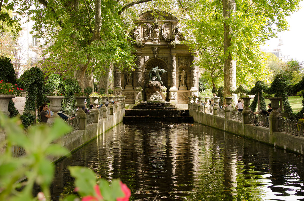 La fontaine m dicis paris 6 me et si on se promenait for Jardin luxembourg