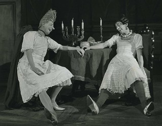 Frederick Ashton and Robert Helpmann as the Stepsisters in Cinderella © Roger Wood/ROH 1949 | by Royal Opera House Covent Garden