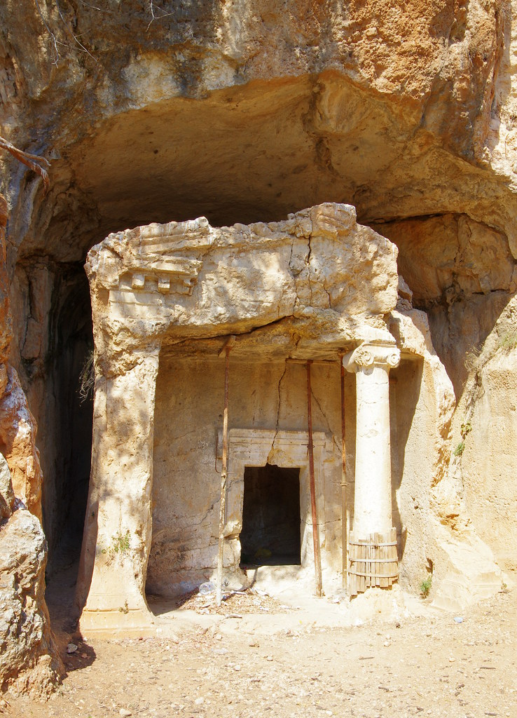 rock tomb, Akyaka