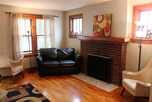 Gas Fireplace Family Room