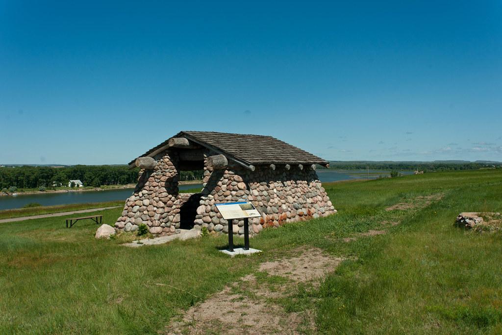 Double Ditch Indian Village North Dakota From Everydot