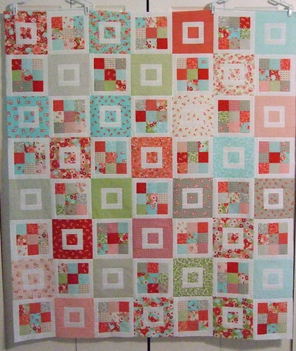 shortcake quilt top | by notes of sincerity