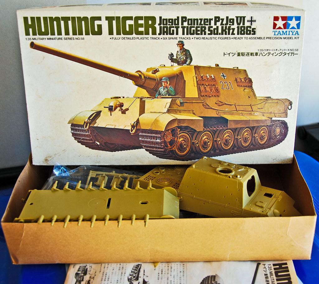 Tamiya Kit No. MM158 1/35 scale Hunting Tiger Jagd Panzer ...