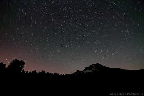 Star trails at Timberline. | by Gary_meyers