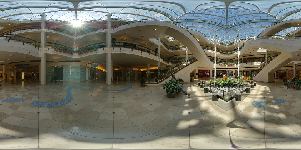 Shopping Mall At Portland Or Immersive Viewer Ã�ノラマ